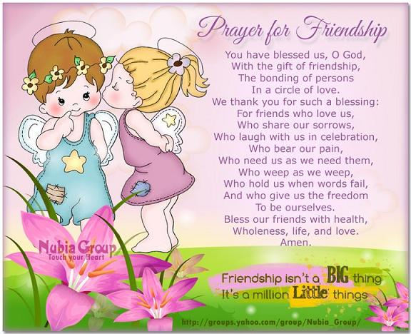 Prayer for friends daphnegans blog advertisements altavistaventures Image collections