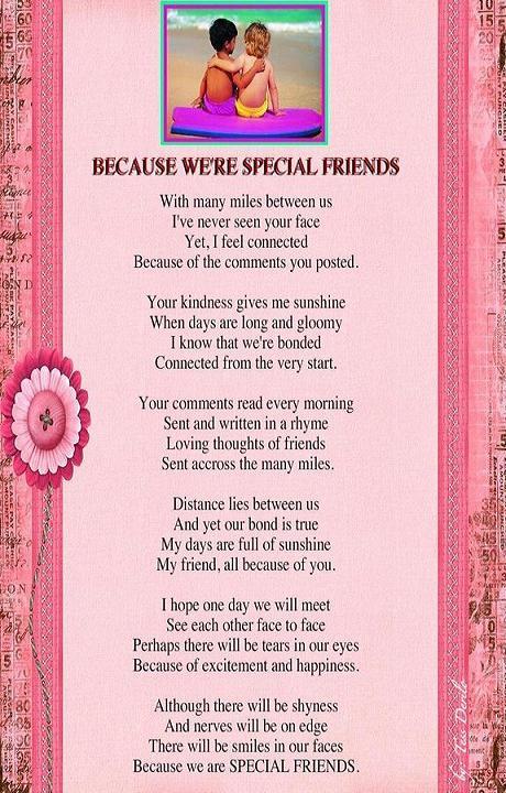 Special friends~ – Daphnegan39;s Blog