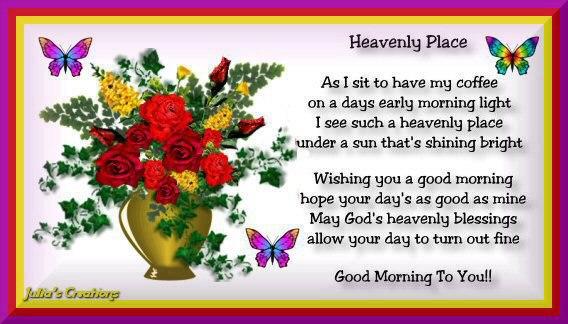 Good Morning Daphnegans Blog