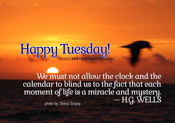 Tuesday-