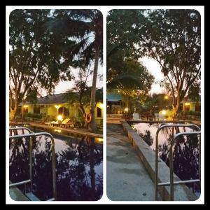 Night scenery at our resort that we staying :)