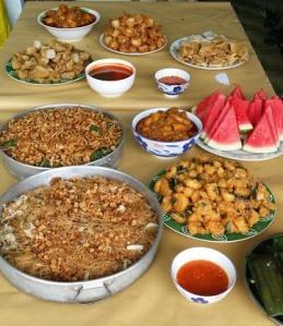 Food...food and food